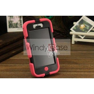 Griffin Survivor iPhone 5 case - roseo/black