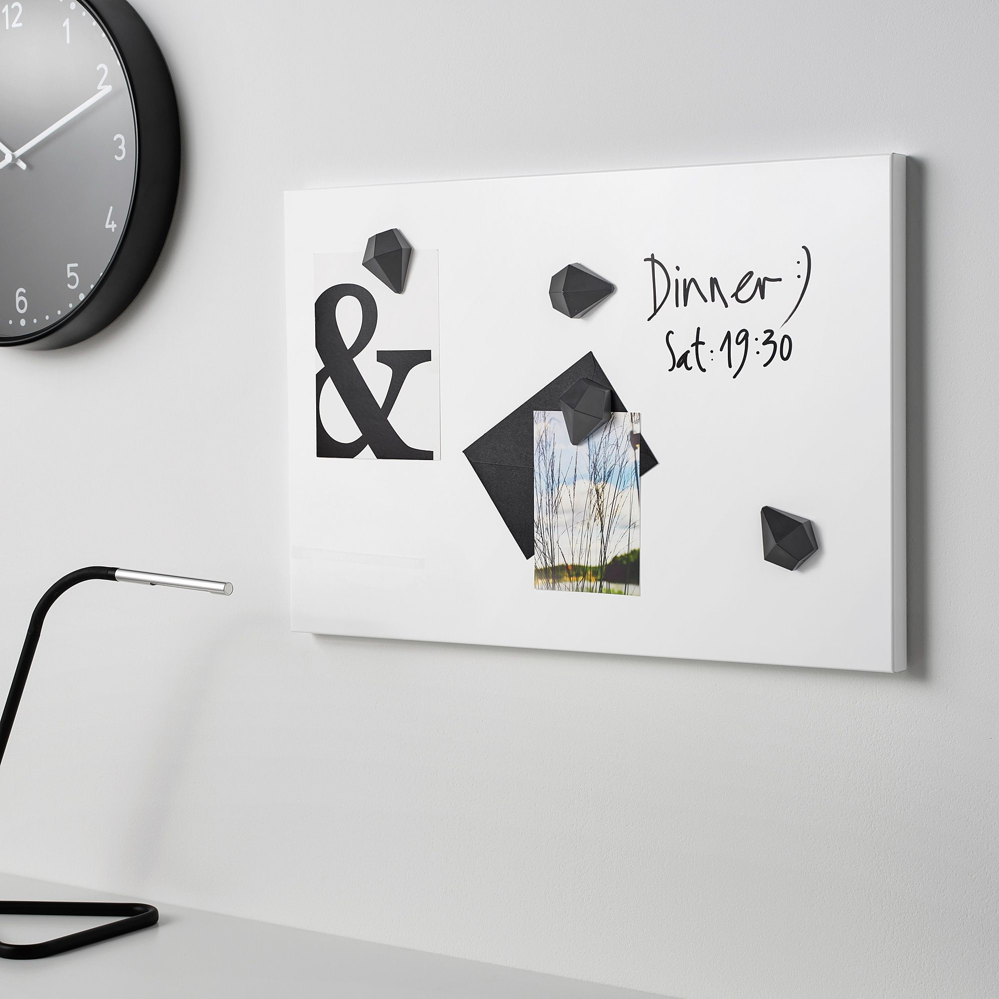Svensas White Memo Board Ikea En 2020 Tableau Memo Tableau Affichage Tableau Blanc Magnetique