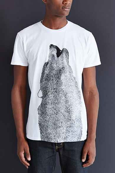 Supremebeing Lobo Luna Tee | Pocket Ts | Mens tops, T shirts