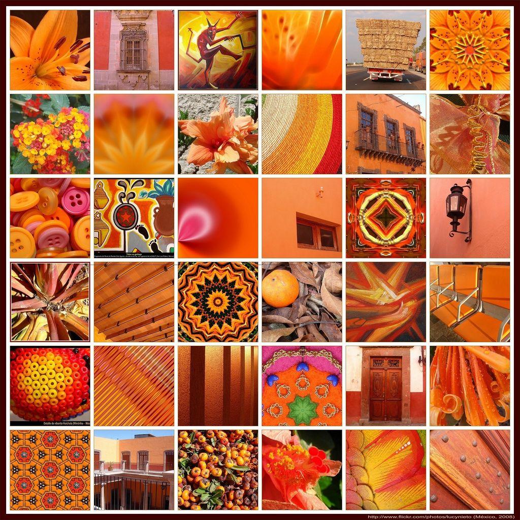 Mosaico Naranja - México