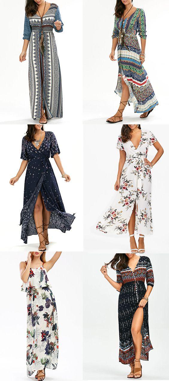 Casual Boho Style Dresses