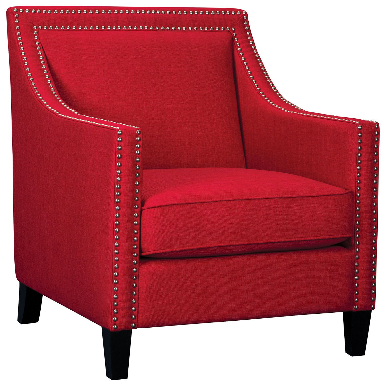 Charmant Erica Contemporary Accent Chair   Red : Accent Chairs   Best Buy Canada