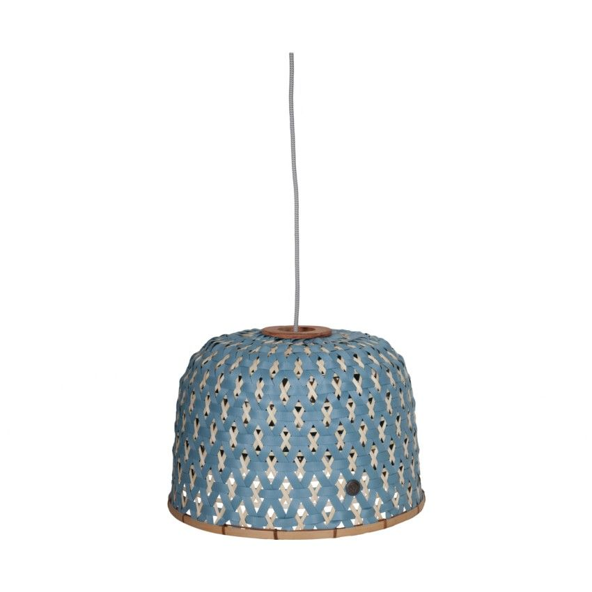 Handed By Lampenkap Bamboo Stone Blue