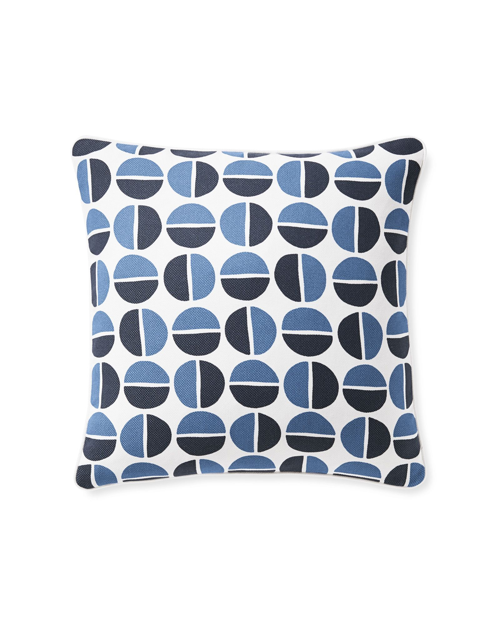 Designed by serena the slightly imperfect geometric circles give