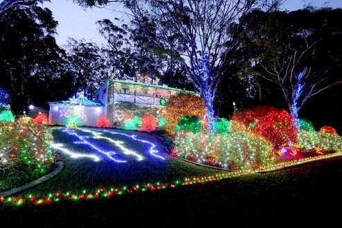 Xmas Lights Around Brisbane Australia Pictures Fun Videos Christmas Lights Xmas Lights Australia Pictures