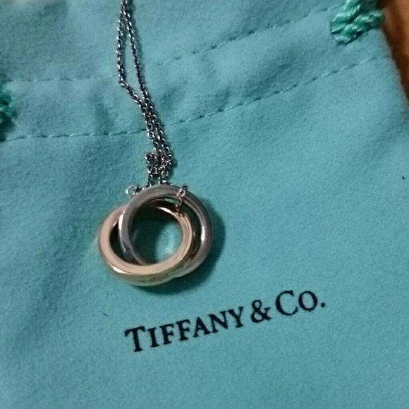 Tiffany and co interlocking rings necklace 16 worn maybe 5 times tiffany and co interlocking rings necklace 16 worn maybe 5 times authentic and comes aloadofball Gallery