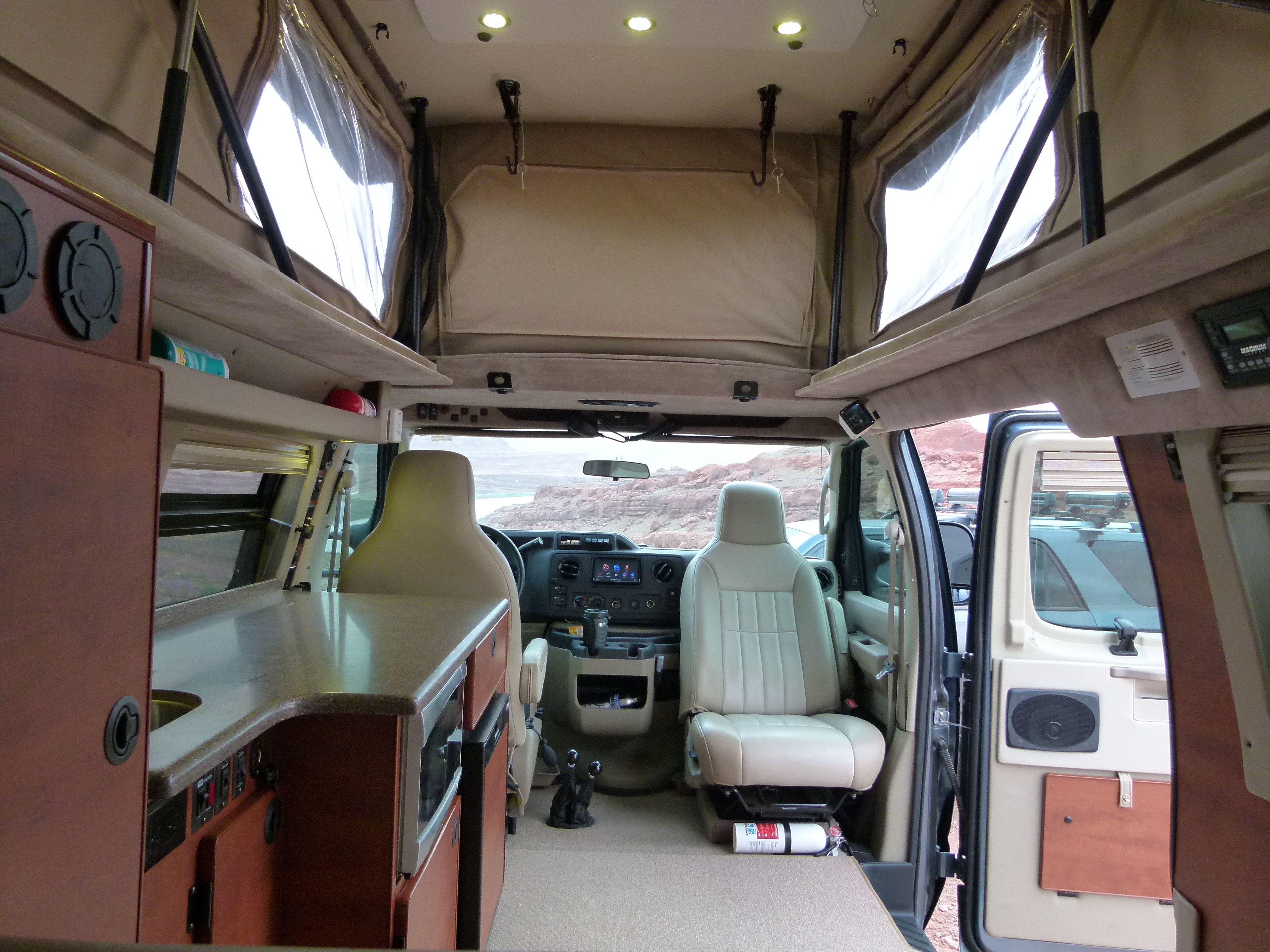 Sportsmobile Interior Adventure Vehicle Rentals Sportsmobile