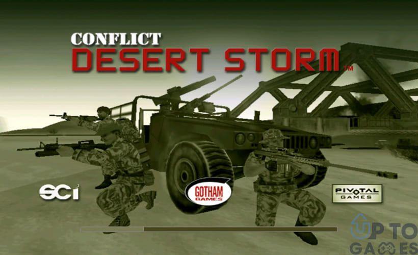 تحميل لعبة عاصفة الصحراء 1 Desert Storm للكمبيوتر من ميديا فاير يمكنكم الحصول عليها الان برابط مباشر وحجم صغير Monster Trucks Storm Games
