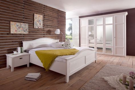Komplett schlafzimmer Die Schlafzimmer ganz einfach weiß Kiefern von