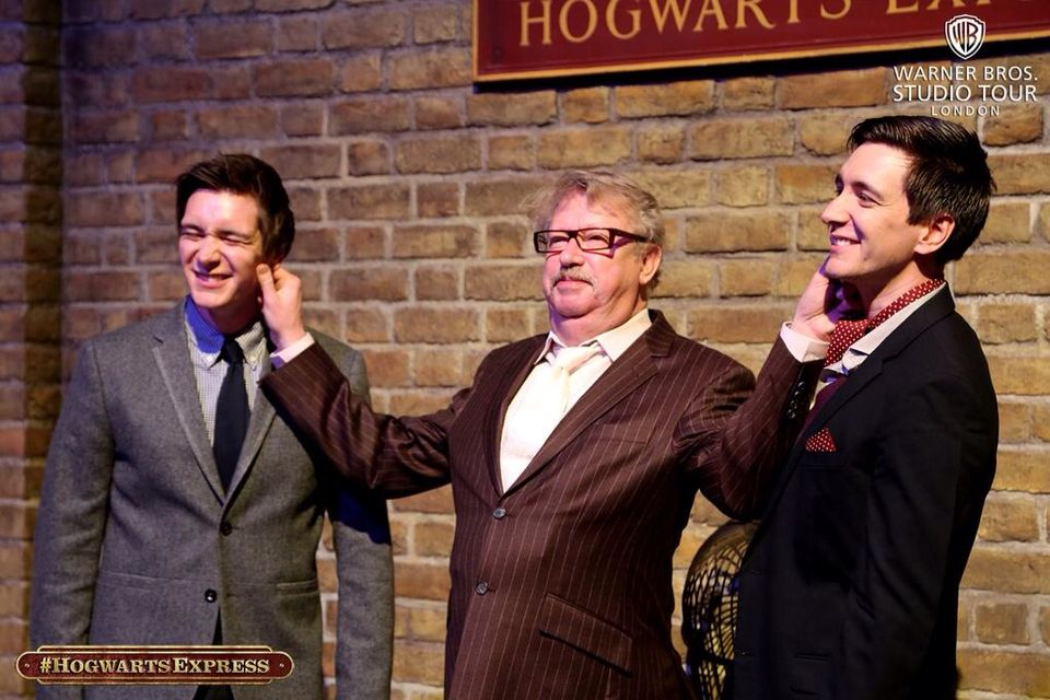 Weasley Reunion Yes Mark Williams James Phelps And Oliver Phelps Garri Potter