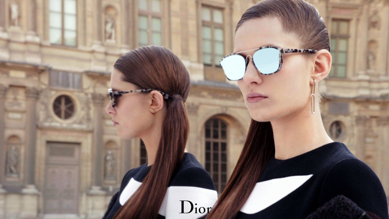 """5dddab2bd682 dior  """" The Dior Abstract sunglasses from the women s Autumn-Winter 2015-16  collection. More on Diormag.com. """""""