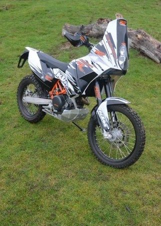 2f292eb5c9c KTM 690 Rally Raid Conversion Enduro Motocross