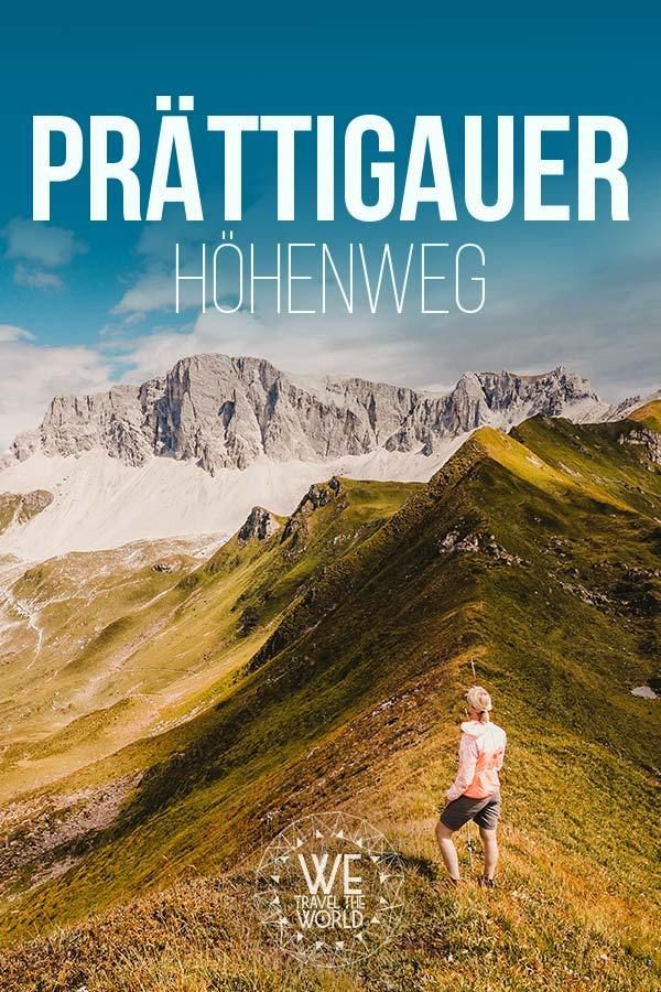 Prättigauer Höhenweg – 4 Tage durch Almwiesen und schroffe Bergwelten ins Heidiland [+Packliste] #aroundtheworldtrips