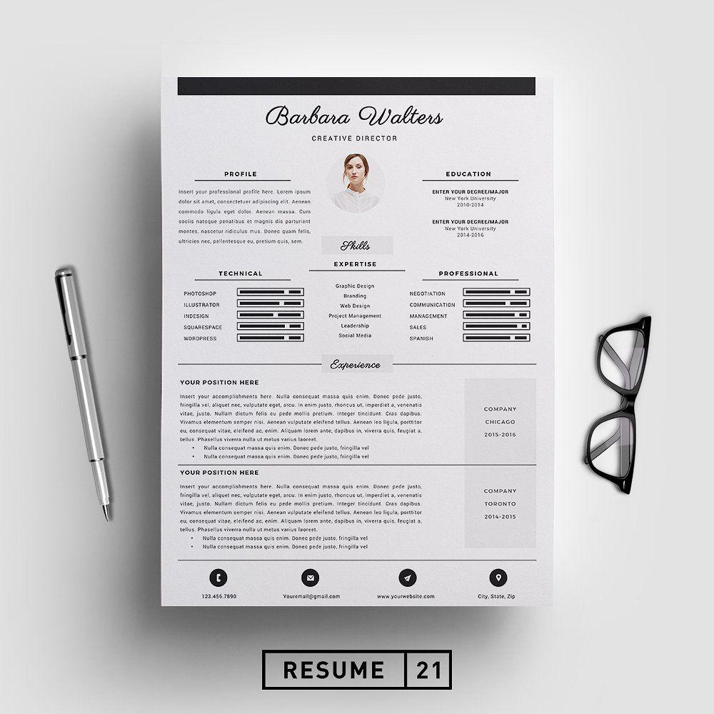Creative Director Resume Template Cv Resume Template Unique