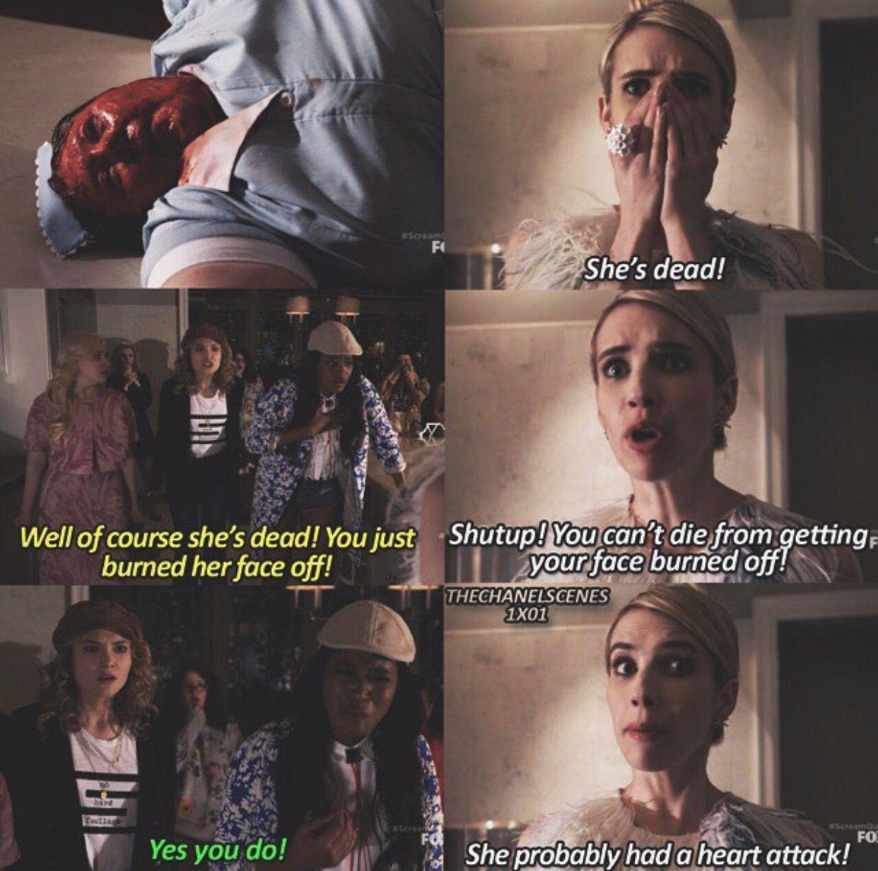 Goodvibesgirl27 Scream Queens Quotes Scream Queens Scream Queens Season 1