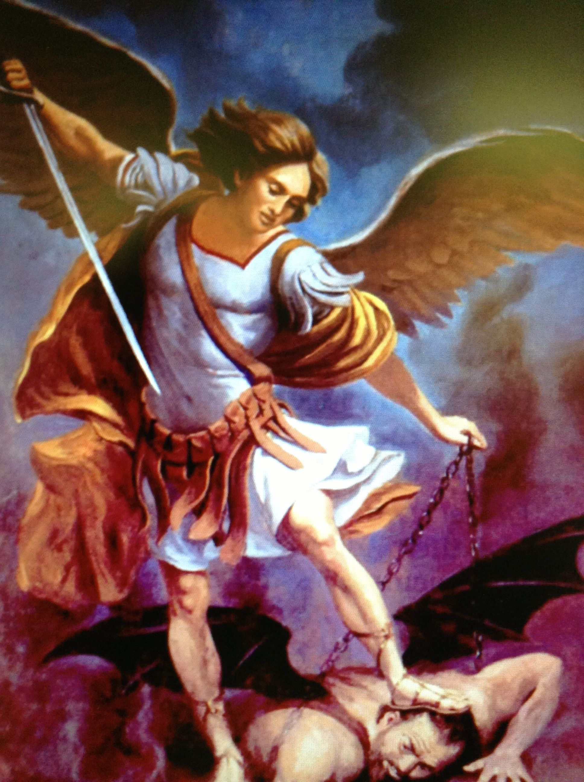 archangel michael prayer - HD 1936×2592