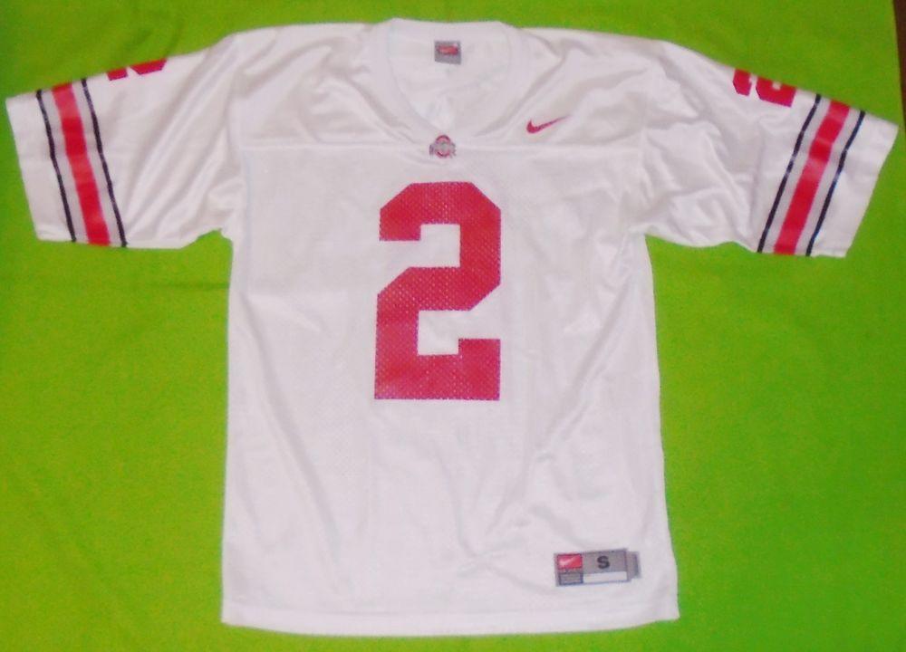 e4900316 Nike Team Apparel NCAA Ohio State Buckeyes Football Jersey Mens size Small # Nike #OhioStateBuckeyes