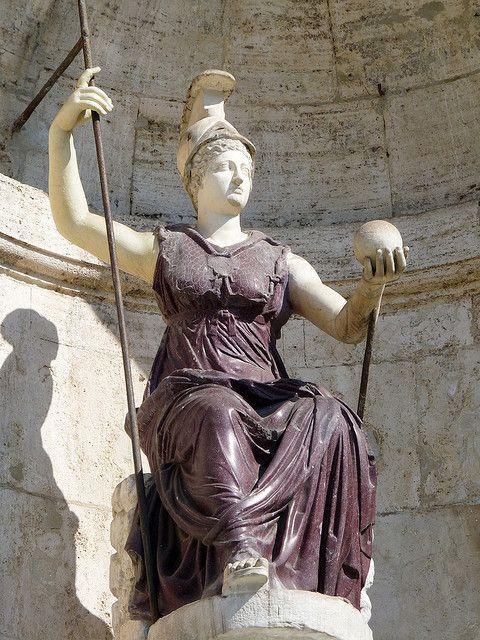 Statue of Goddess Minerva | Greek and roman mythology, Roman sculpture,  Goddess art