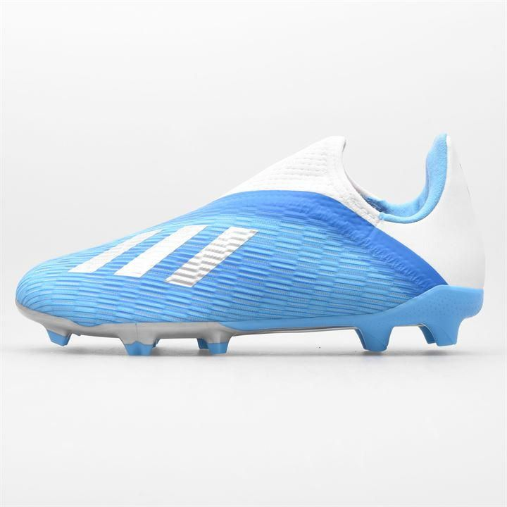 Adidas X 19 3 Laceless Childrens Unisex Fg Football Boots In 2020 Kids Football Boots Football Boots Soccer Cleats Nike