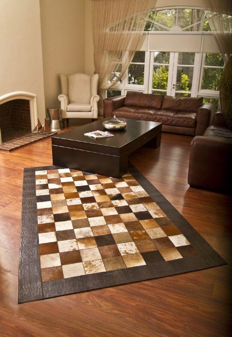 Patchwork Teppich als dekoratives Accessoire – 20 bunte & neutrale