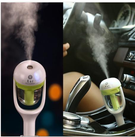 1Pcs 12V Car Steam Air Humidifier Aroma diffuser, Air