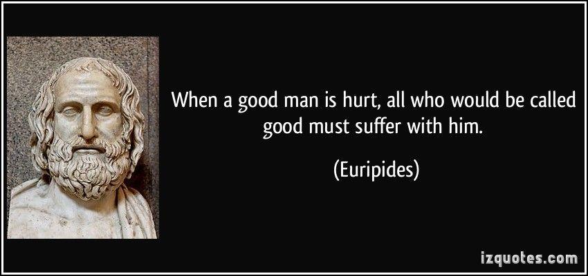 when a man is hurt