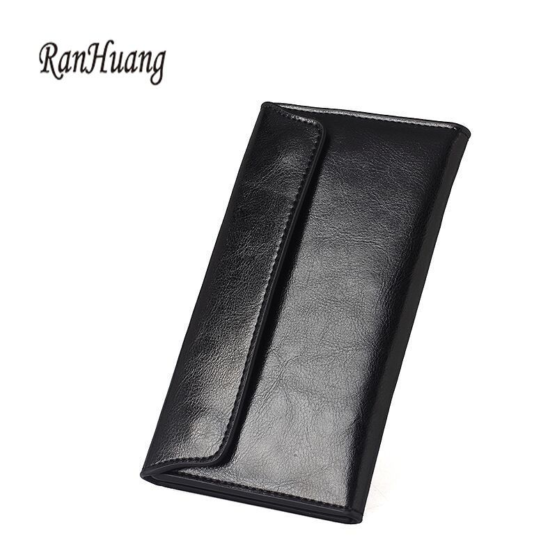 36cfd6359e RanHuang New 2017 Women s Designer Wallets Fashion Thin Wallets Ladies Cow  Leather Card Holder Multifunction Bag