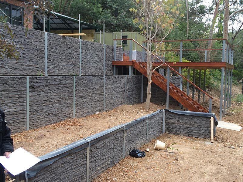 Kensington Concrete Sleepers Concrete Retaining Walls Adelaide Concrete Sleeper Retaining Walls Concrete Sleepers Building A Retaining Wall