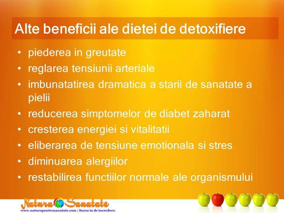 detoxifiere beneficii)