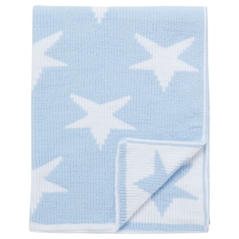 Blue Fleece Blanket Star