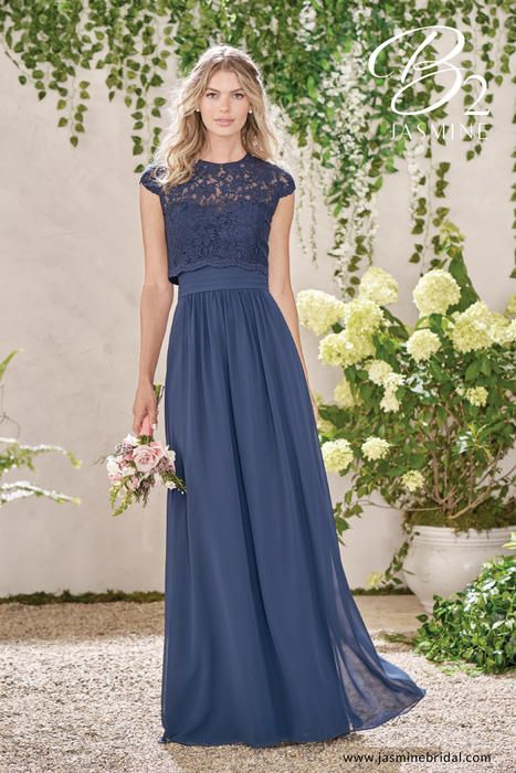 Versatile B2 Bridesmaids by Jasmine B193010. Sweetheart chiffon bridesmaid  dress 6d8f74bd5e41
