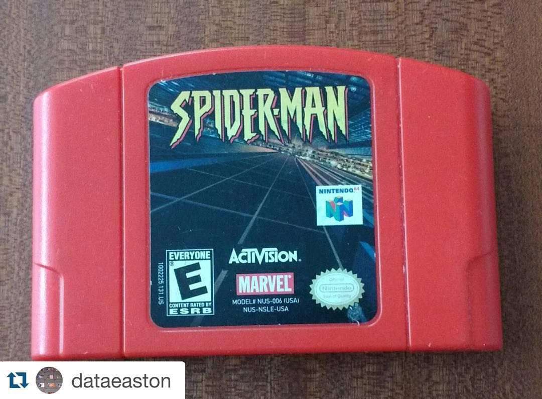 By gamethieves: #nintendo64 #spiderman up for sale! Send him a message!  Contact info right below #dm seller #asap  #Repost @dataeaston  Spiderman for Nintendo 64 (N64) $11 Shipped Good Condition Claim and DM PP F & F $18 Shipped with a heavily scuffed copy of Star Fox 64 ($11 Shipped alone) $20 Shipped with a nice copy of Star Fox 64 (Player's Choice) except ripped back label ($13 Shipped alone) $30 Shipped for all three  The #dailydatadeal is back and today's is brought to you by the…