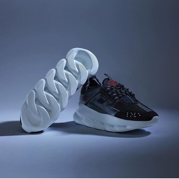 Versace Chain Reaction Sneakers 2018 | Fitted Caps, Kicks ...