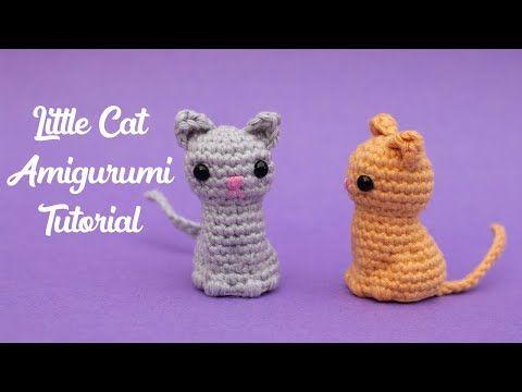Kleine Katze Kostenlose Häkelanleitung - Stella's Yarn Universe