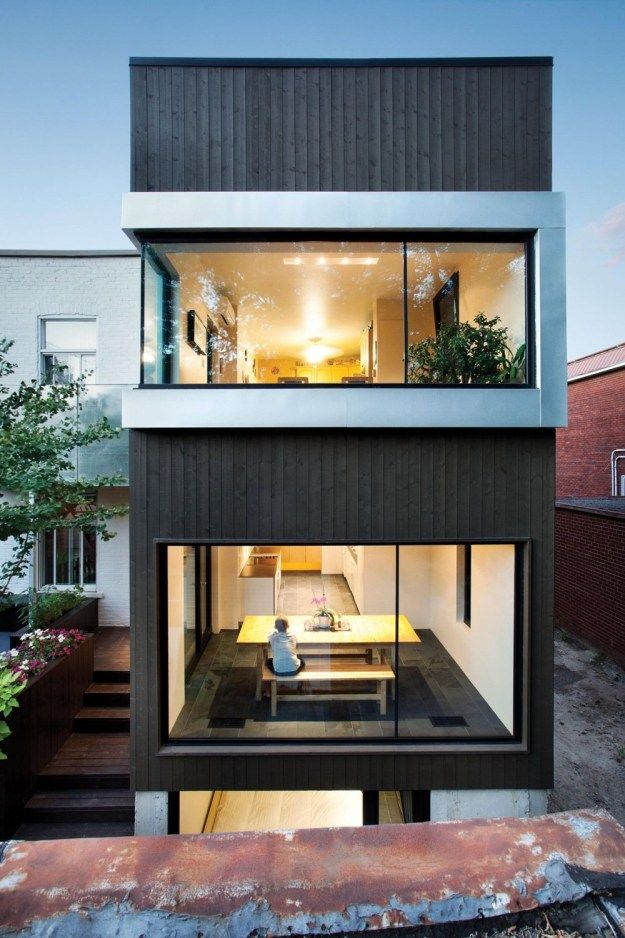 Berri Residence By Naturehumaine Houses Pinterest Architecture - The-unusual-cedar-residence