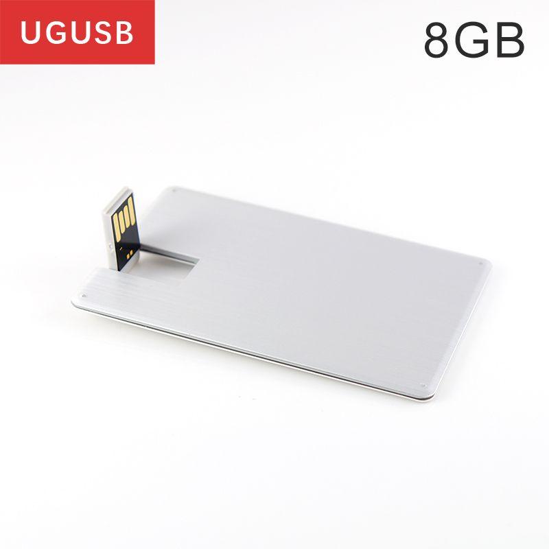 Hot !!! Swivel Business Card Usb flash drive Metal Pen drive Usb ...