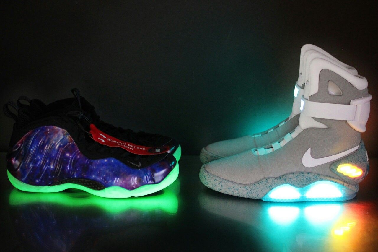 brand new a69af 4809a galaxy foamposites and nike air mags | Fashion Is Key! | Sneakers ...