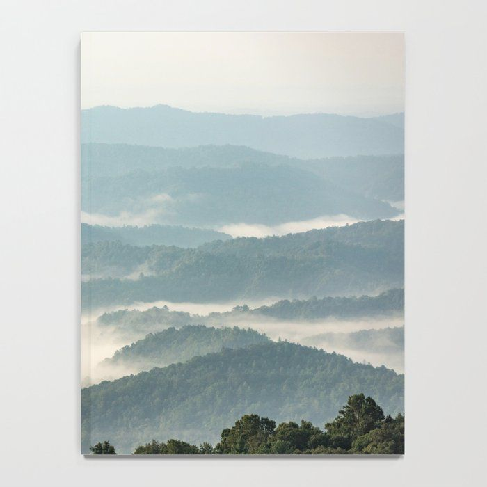 Blue Ridge Parkway - Shenandoah National Park Notebook by Cascadia - 6 x 8 Lined