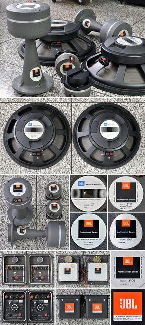 JBL E-4331 | horn speakers in 2019 | Woofer speaker, Hifi