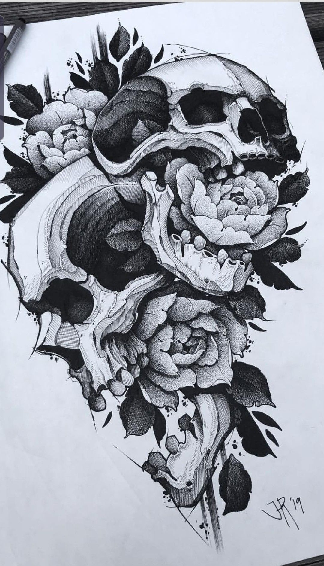 Pin By Drew Huff On Graphic Whipshading Linework Tattoo Design Drawings Skull Rose Tattoos Skull Tattoo Design