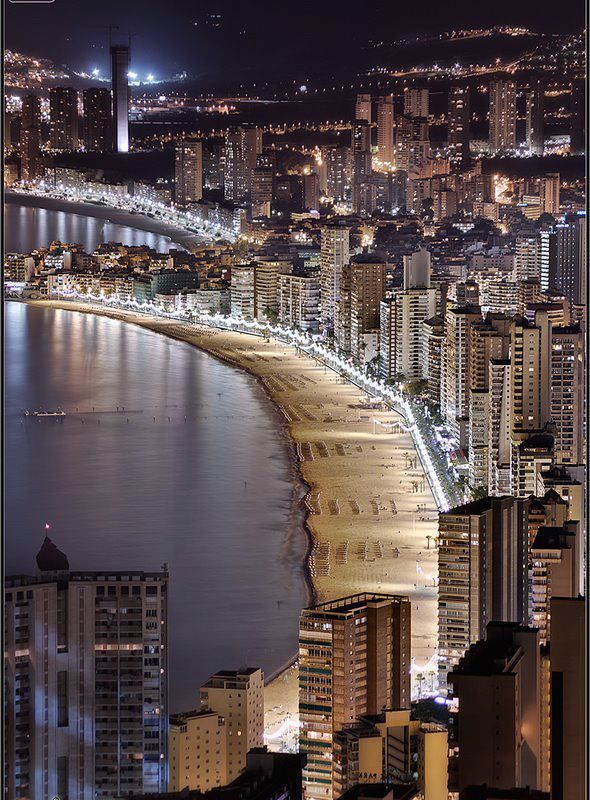 Postales De Benidorm Alicante Spain Places Around The World Spain Places To Travel
