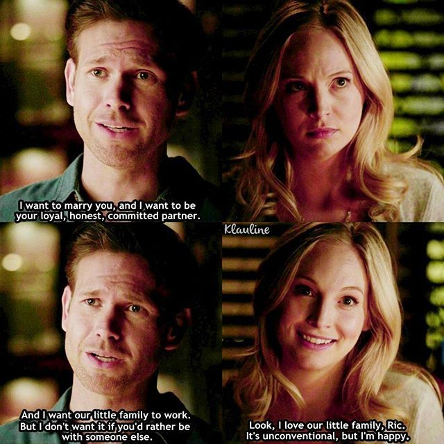 Tvd 7x20 Kill Em All Caroline And Alaric With Images
