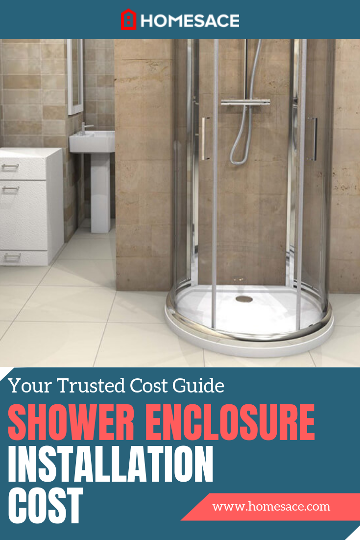 How Much Does A Shower Enclosure Installation Cost All Bathrooms