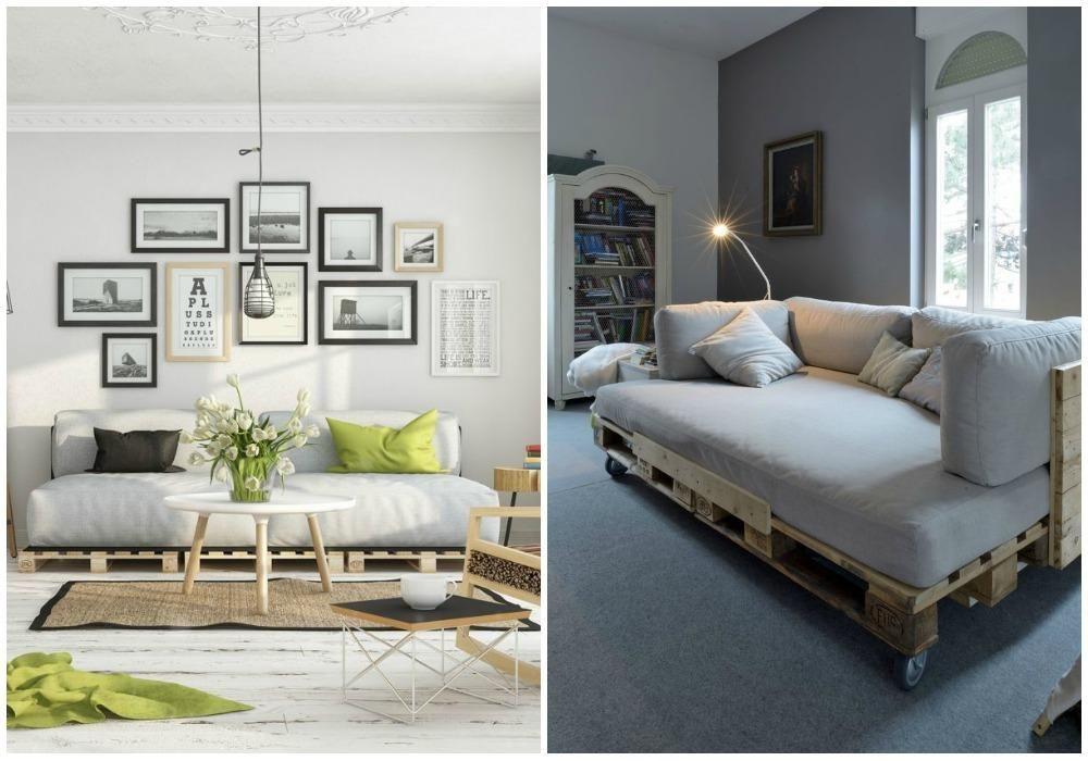 Decorar con un bonito sofá de palets | cambios inmediatos ...