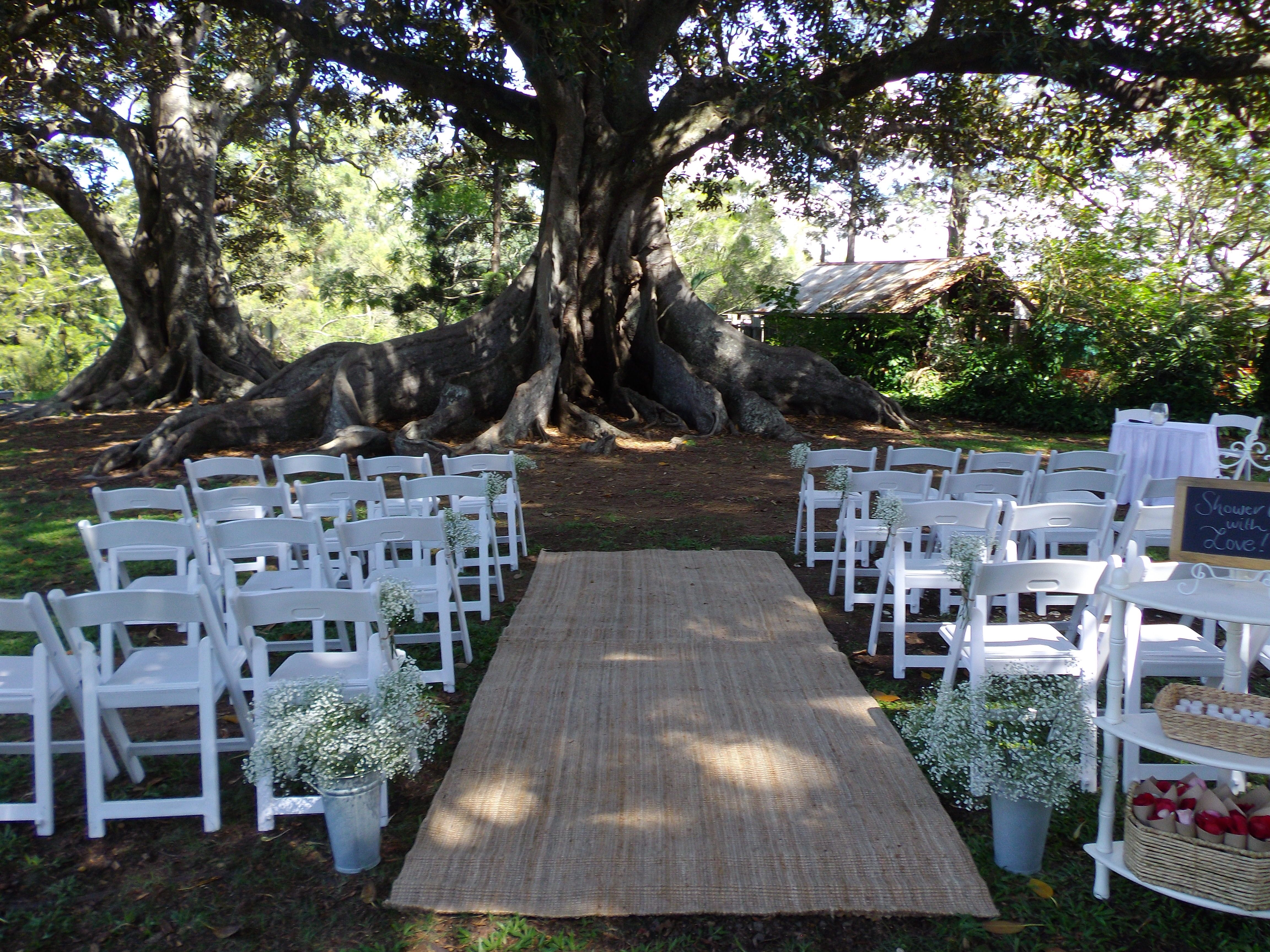 Old Petrie Town Wedding Ceremony Area Brisbane