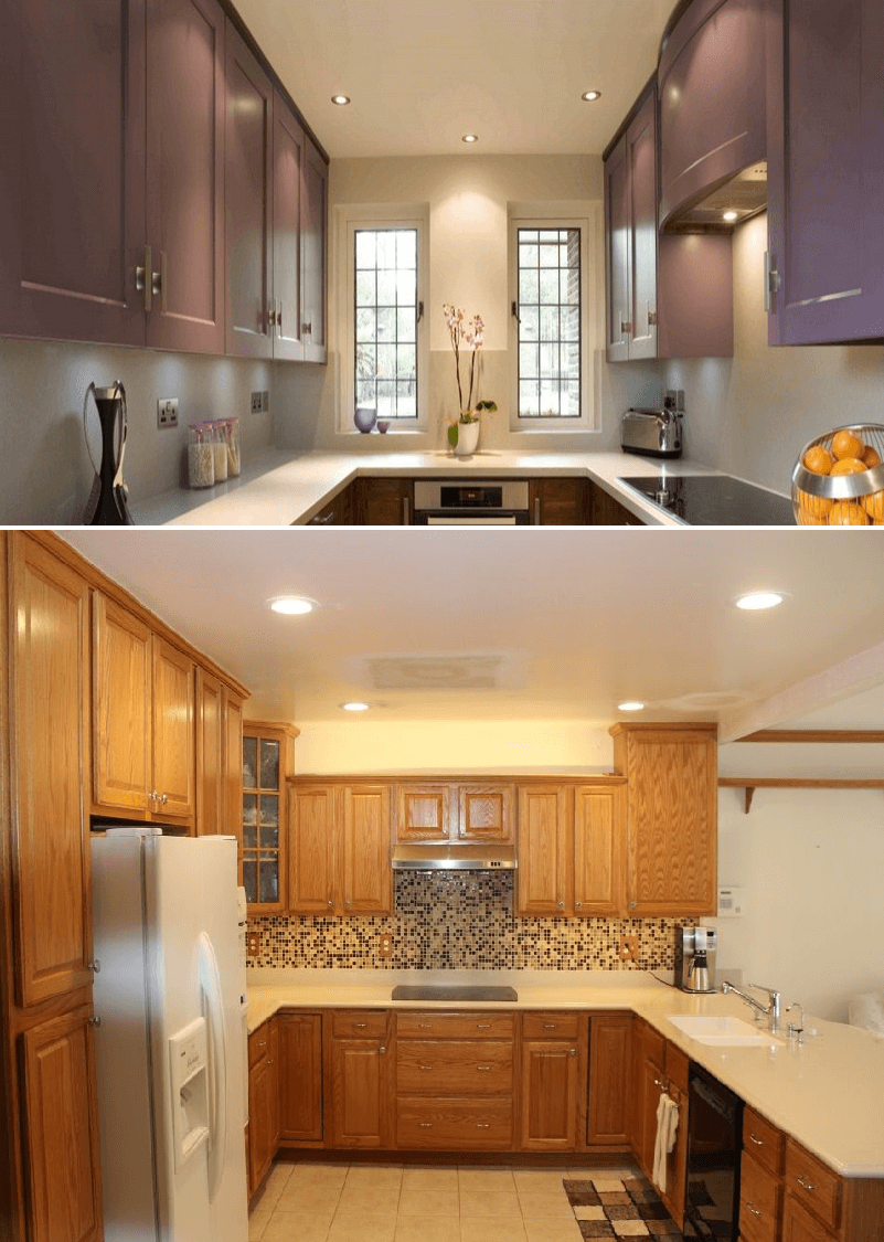 Small Kitchen Lighting Ideas That You Can Adopt Small Kitchen Guides Kitchen Recessed Lighting Small Kitchen Lighting Kitchen Ceiling Lights