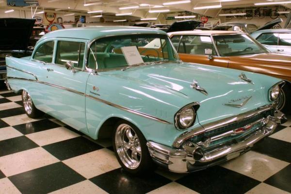1957 Chevrolet Two Ten Series 2100 Model 2102 2 Door Sedan With