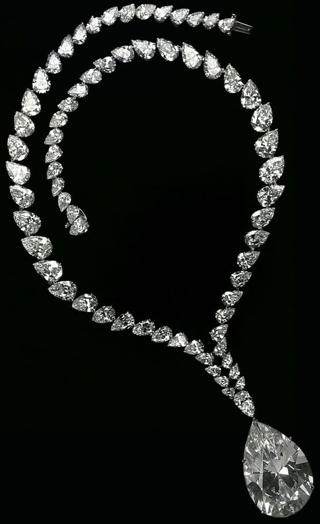 The Taylor-Burton Diamond Necklace