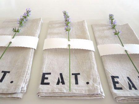 Décor de table / table decor