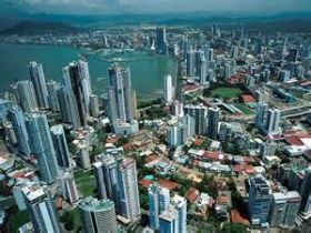 Panama City Panama Including San Francisco Area As Viewed From Above The Economy Of The San Francisco Area Of Panama City Panama City Panama Panama City